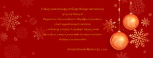Życzenia Grande Medica - Centrum Medyczne Grande Medica