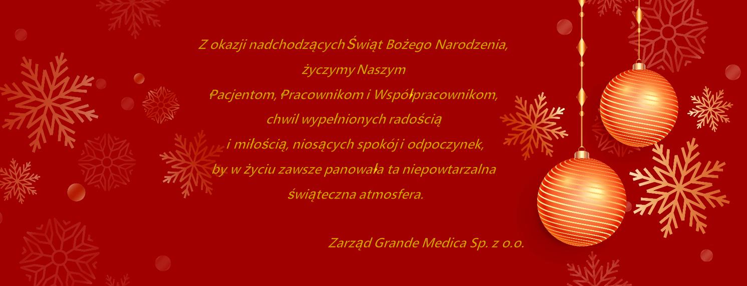 Życzenia Grande Medica